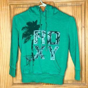 ROXY Green Hoodie XS